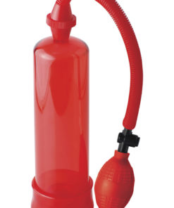 Beginner`s Power Penis Pump - Red