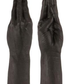 Belladonna`s Magic Hand Dildo 11.5in - Black