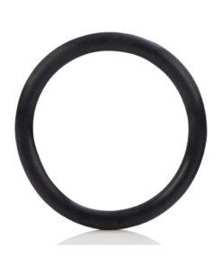 Black Rubber Cock Ring - Large - Black