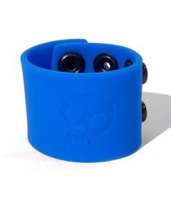 Bone Yard Silicone Ball Strap 1.5 Inches Stretcher Blue