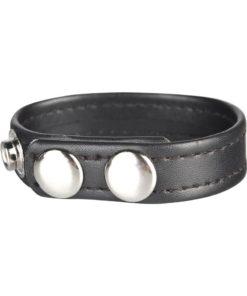 CandB Gear Snap Cock Ring Adjustable Black