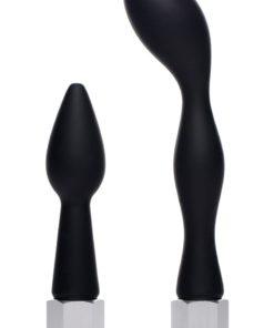 Cleanstream Silicone Enema Attachment Set - Black