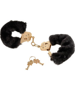 Fetish Fantasy Gold Deluxe Furry Cuffs