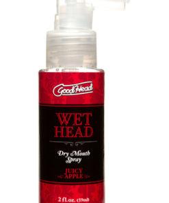 Goodhead Wet Head Dry Mouth Spray Juicy Apple 2oz