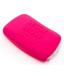 Happy Rabbit WOW Silicone Storage Zip Bag - Small- - Pink