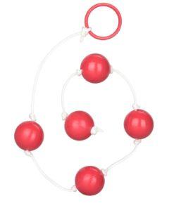 Large Anal Anal Beads - Pink