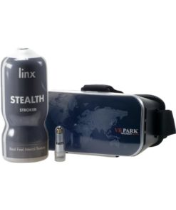 Linx Cyber Pro Stealth Stroker And VR Headset - Vanilla/Black