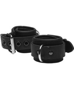Master Series Serve Neoprene Buckle Cuffs - Black