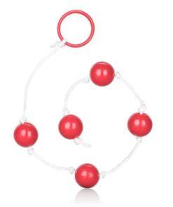 Medium Anal Anal Beads - Blue