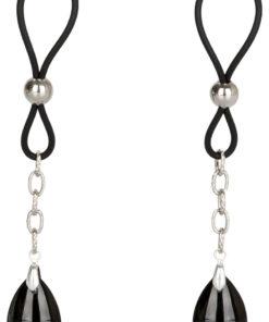 Nipple Play Non Piercing Nipple Jewelry - Onyx