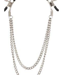 Nipple Play Tiered Nipple Clamps - Silver