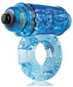O Wow Vibrating Ring - Blue