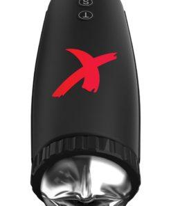 Pipedream Extreme Elite Moto-Bator Masturbator - Mouth - Clear/Black