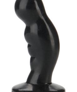 Platinum Premium Silicone - The P-Plug Anal Plug Prostate Stimulator - Black