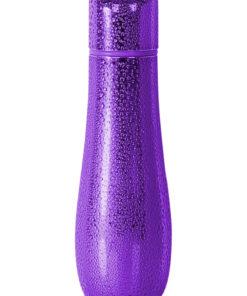 PowerBullet Rain 7 Function Textured Bullet - Purple