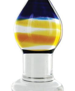 Prisms Pranava Glass Plug - Orange