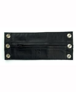 Prowler Red Leather Wrist Wallet - Large - Black/Yellow