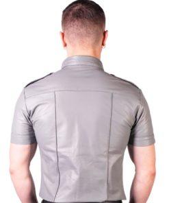Prowler Red Slim Fit Police Shirt - Medium - Gray