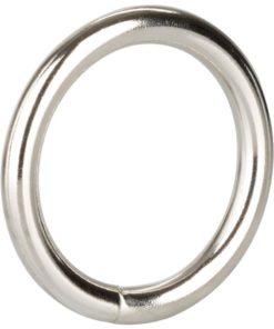 Silver Cock Ring - Medium - Silver
