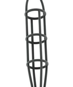 Sono No 30 Silicone Cock Cage With Ball Strap - Grey