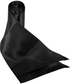 SSex and Mischief Beginners Silk Sash Restraints - Black