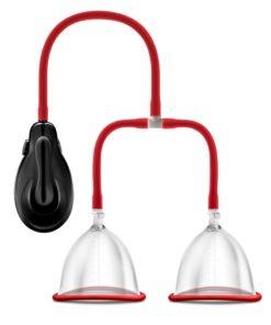 Temptasia Auto Breast Pump - Red