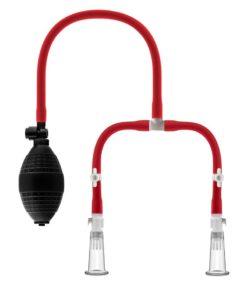 Temptasia Nipple Squeeze Pump - Red