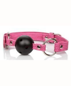 Tickle Me Pink Ball Gag - Pink
